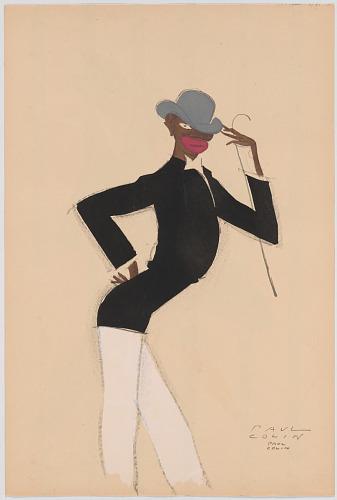 Le Tumulte Noir/Man with White Pants