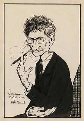 Peter Sheaf Hersey Newell Self-Portrait