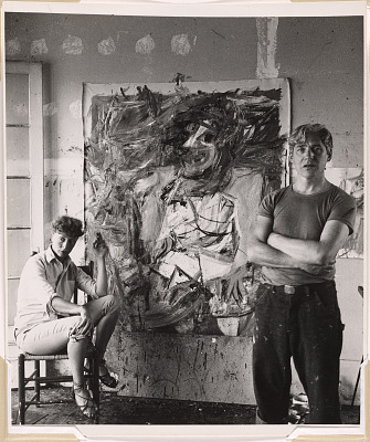 Elaine and Willem de Kooning