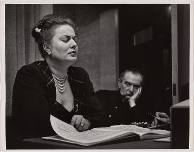 Helen Traubel and Fritz Reiner