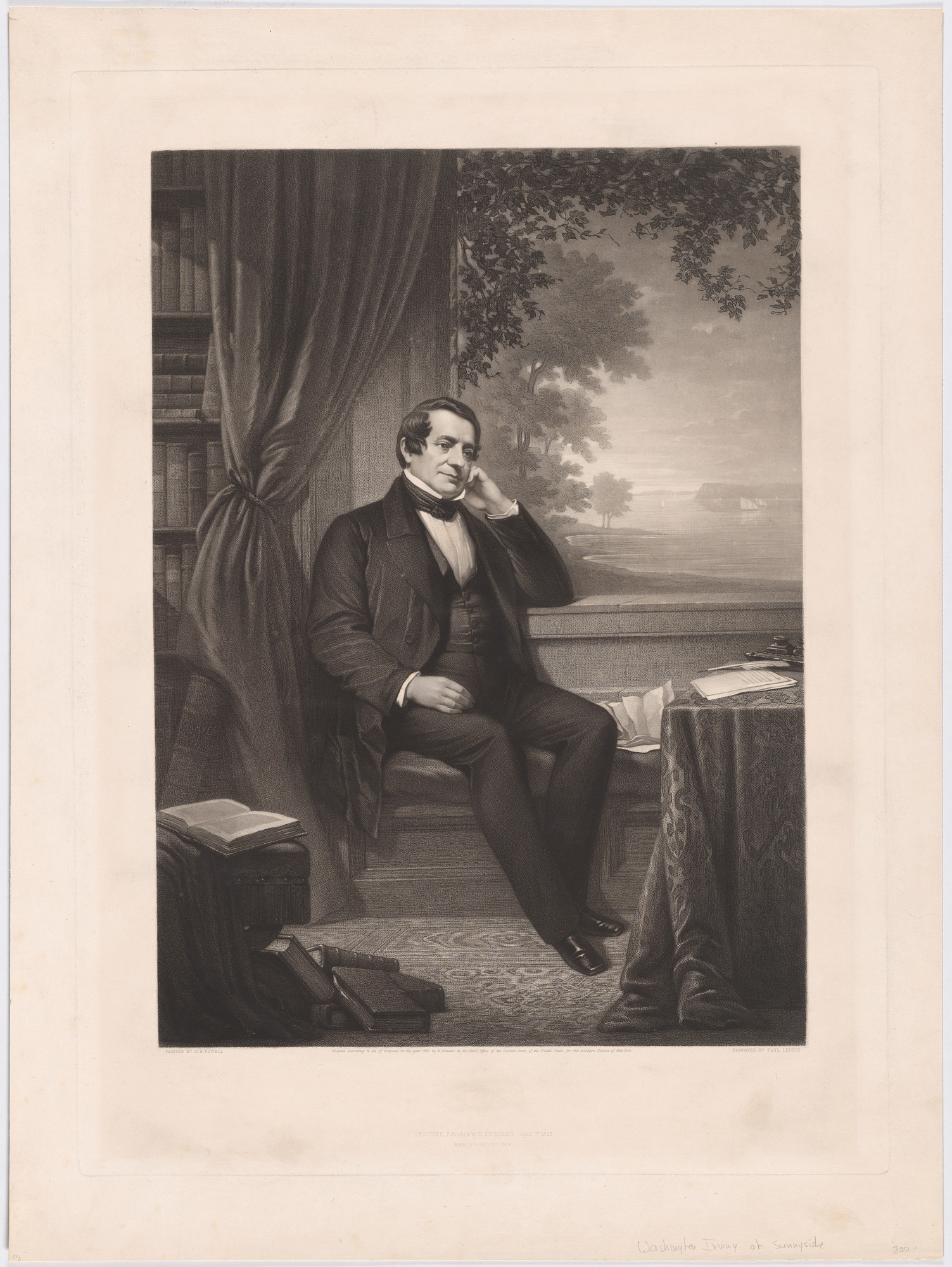 Washington Irving at Sunnyside