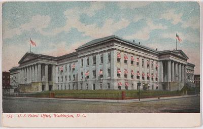 U. S. Patent Office, Washington, D. C.