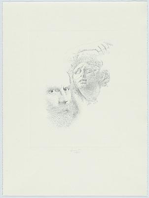 Lucas Samaras Self-Portrait