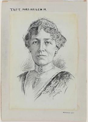 Helen Herron Taft Portrait
