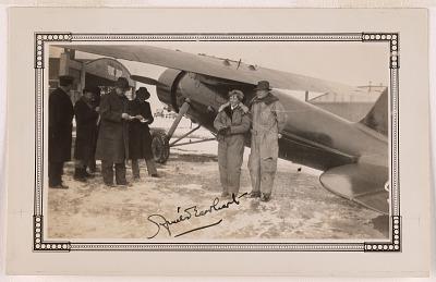 Amelia Earhart and George Putnum