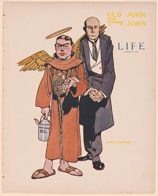 John D. Rockefeller and John D. Rockefeller, Jr.
