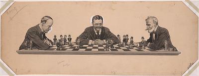 Theodore Roosevelt, John Milton Hay, Joseph Gurney Cannon