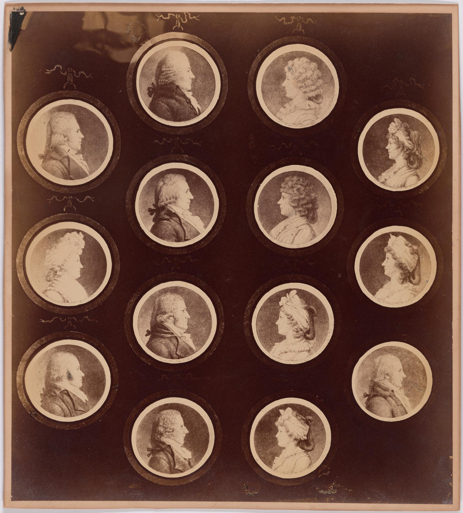 Saint-Memin portrait engravings