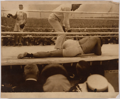 Jack Dempsey and Georges Carpentier