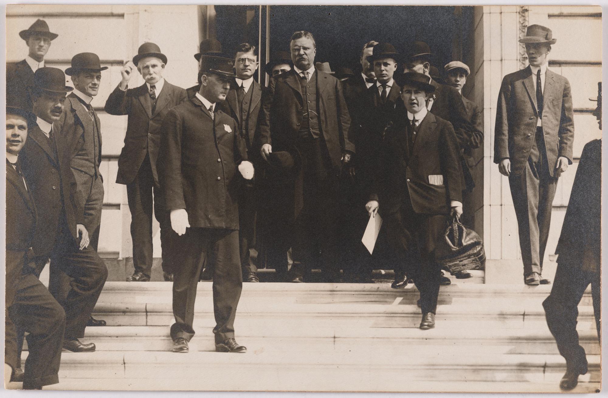 Theodore Roosevelt and Frank J. Hogan