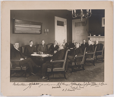 Woodrow Wilson and his Cabinet