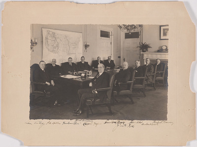 Calvin Coolidge and his Cabinet