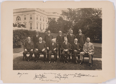 Coolidge and his Cabinet