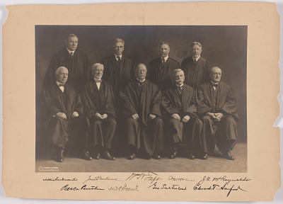 Taft and Members of Supreme Court