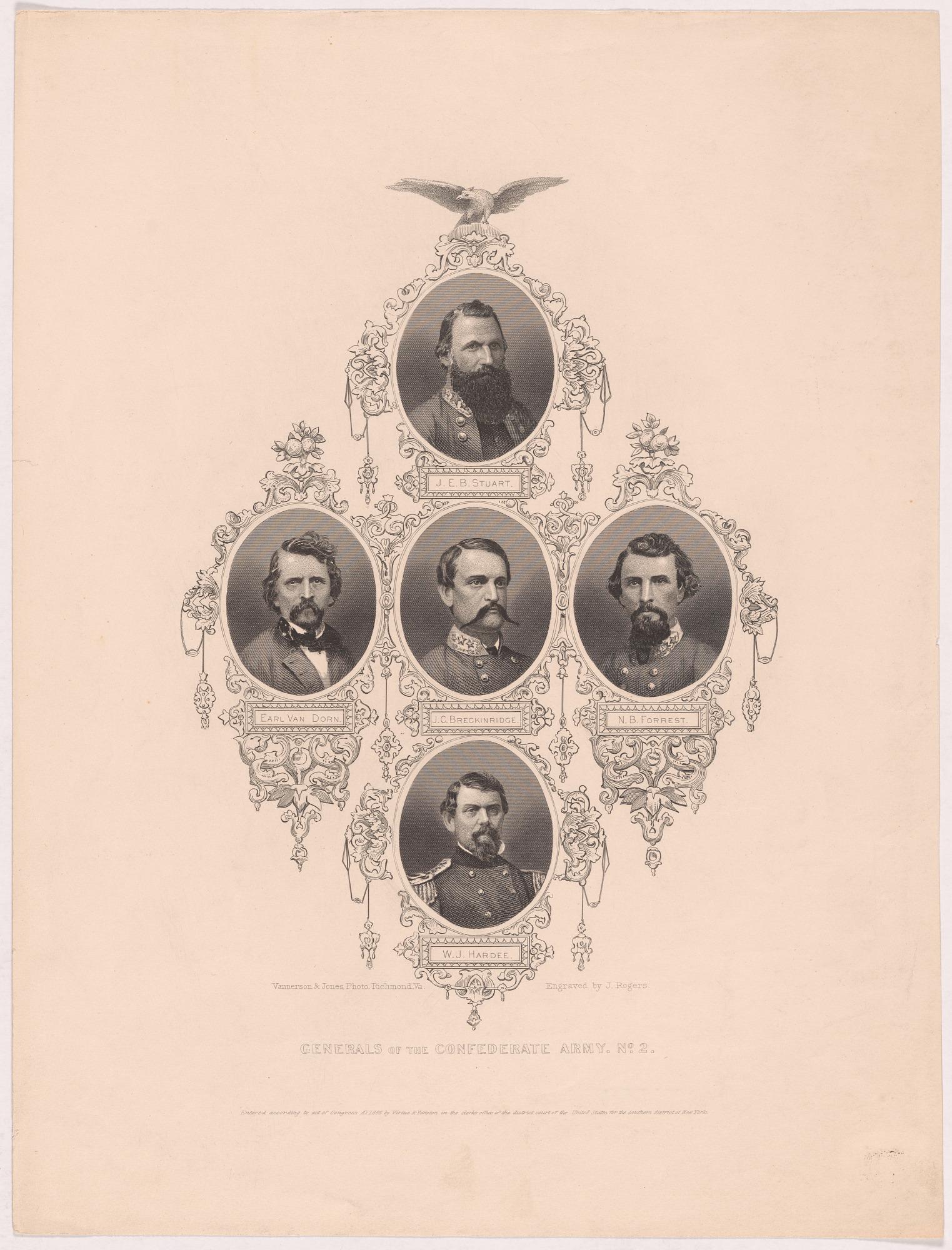Generals Confederate Army No. 2