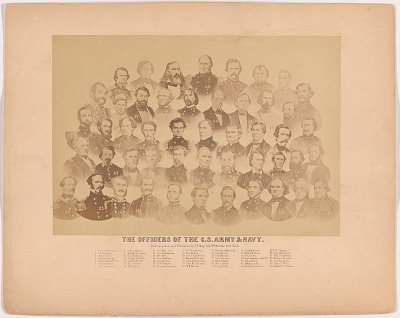 The Officers of the C.S. Army & Navy