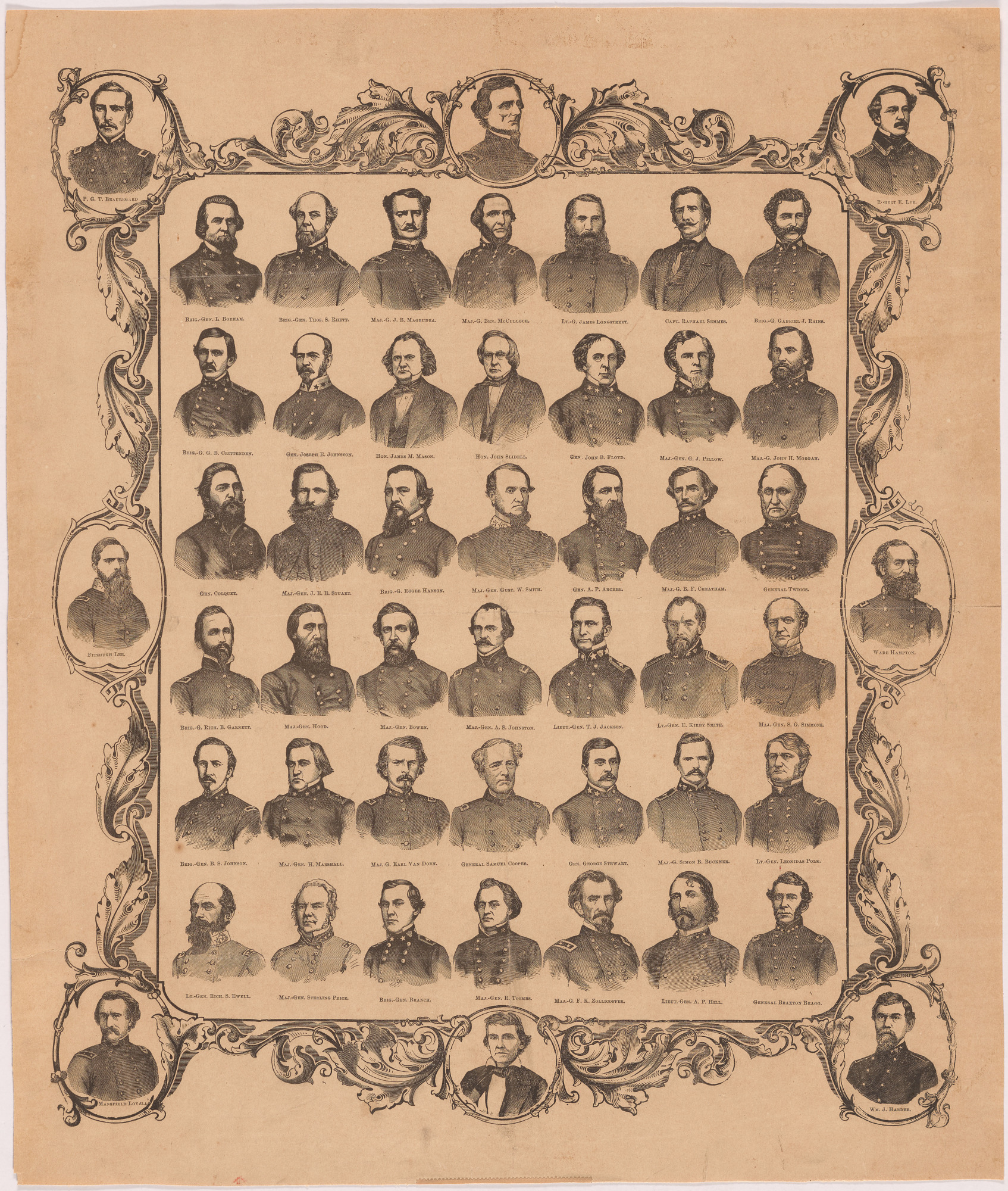Statesmen and Generals, Confederacy