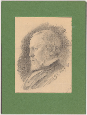 Augustus Goodyear Heaton Self-Portrait