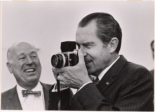George Tames and Richard Nixon