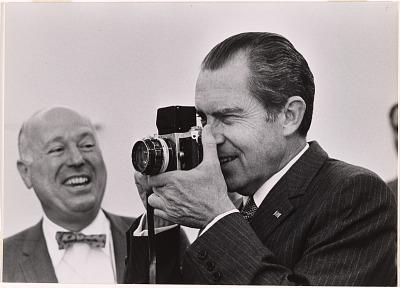 George Tames and Richard Nixon