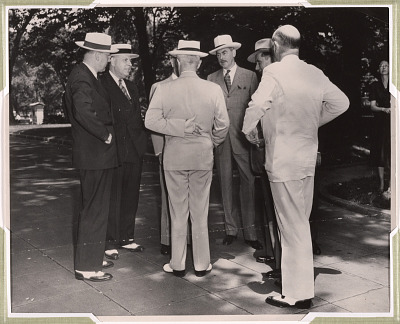 Harry S Truman, Dean Acheson and Louis Johnson