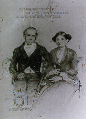 Col. William T. Minter of the County of Dallas and His Lady Susan Bell