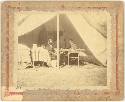Abraham Lincoln and George McClellan