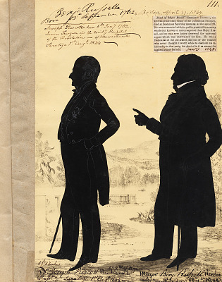Joseph Prescott and Benjamin Russell