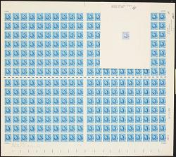 5c American Authors Louisa May Alcott plate proof