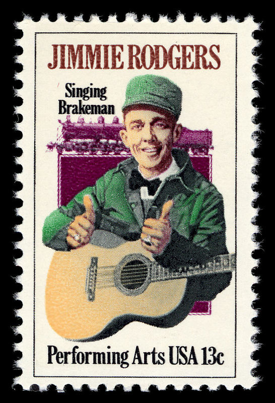 Image for 13c Jimmie Rodgers single