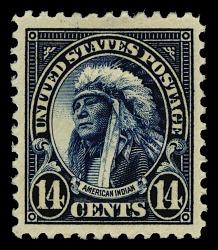 14c American Indian single