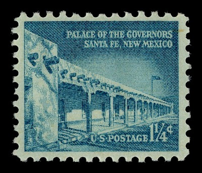 1.25c Palace of the Governors single