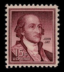 15c John Jay single