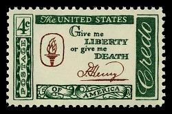 """...Give Me Liberty or Give Me Death!"""