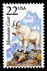 22c Mountain Goat single