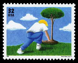 32c Tree Planting single