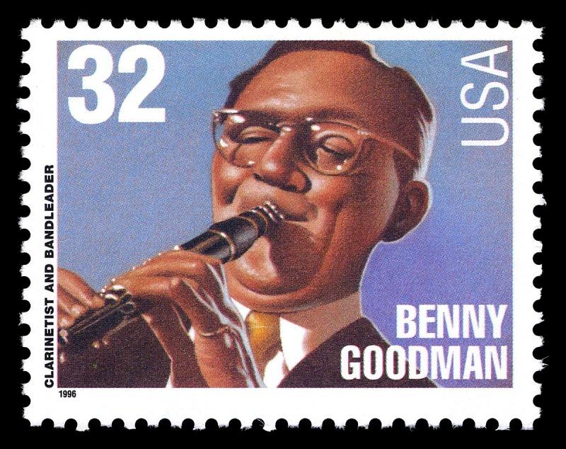 Image for 32c Benny Goodman single