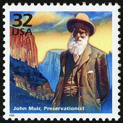 32c John Muir single