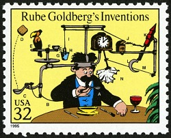 Exploring Simple Machines and the Complexities of Rube Goldberg Inventions