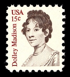 15c Dolley Madison single