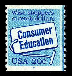 20c Consumer Education single