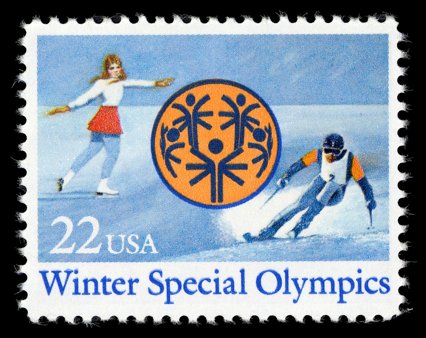 images for 22c Winter Special Olympics single