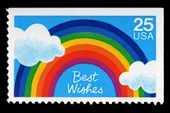 25c Best Wishes single