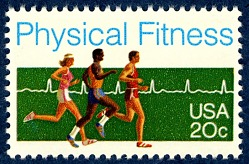 20c Physical Fitness single