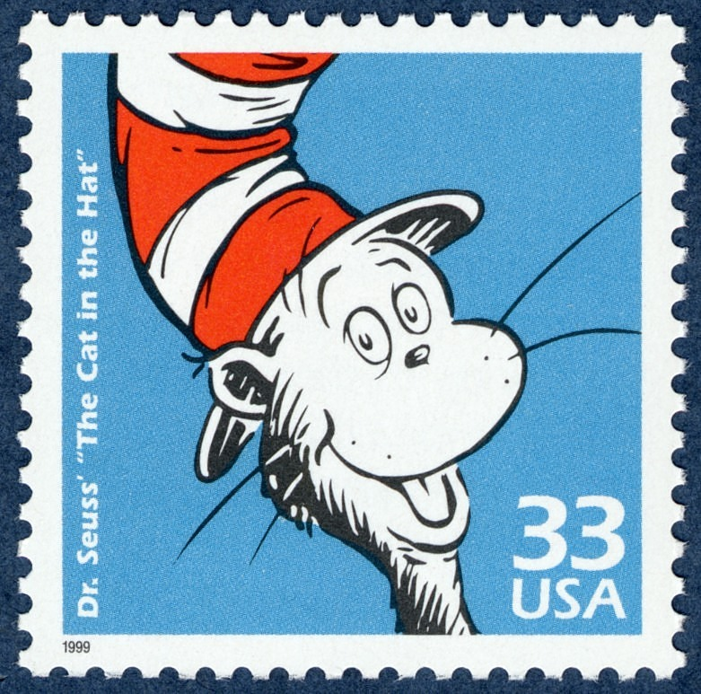 "Image for 33c Sr. Seuss' ""The Cat in the Hat"" single"
