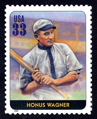 33c Honus Wagner single