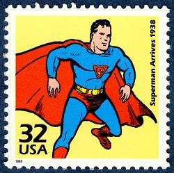 32c Superman Arrives single