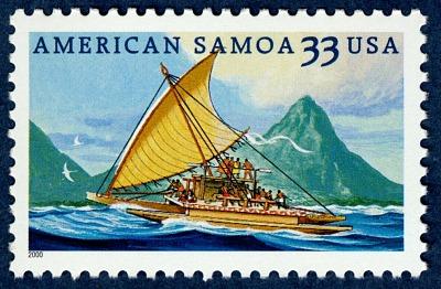 33c American Samoa single
