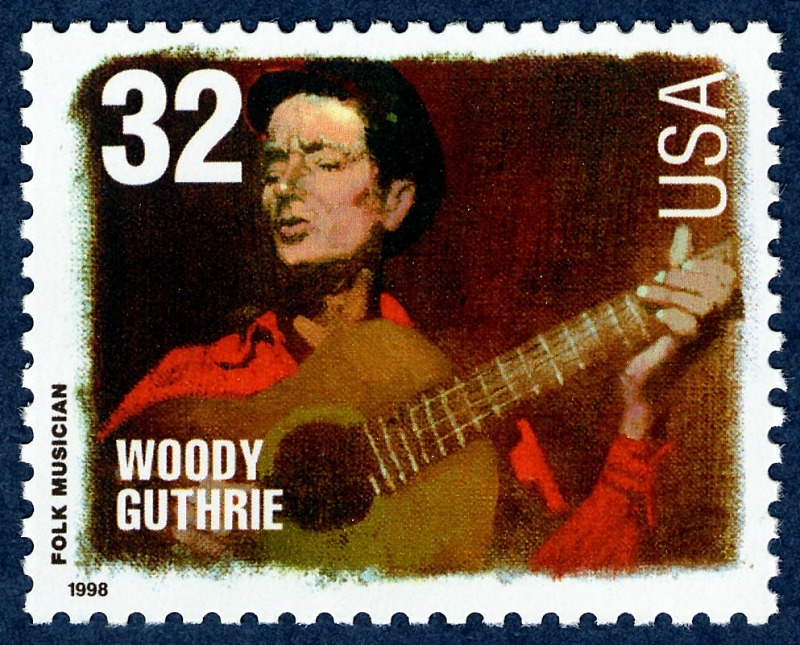 Image for 32c Woody Guthrie single