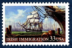 33c Irish Immigration single